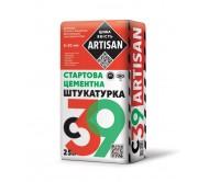 Артисан С-39 СТАРТОВАЯ ЦЕМЕНТНАЯ ШТУКАТУРКА