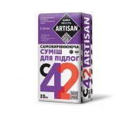 САМОВИРІВНЮЮЧА СУМІШ ДЛЯ ПІДЛОГ влаштування шару 4-20мм ARTISAN С-42 (25 кг)