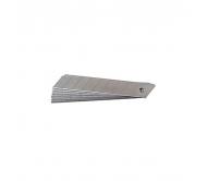 Лезвие сегментированное 18 * 100 мм (10 шт. В тубе) Сталь