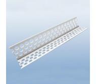 Уголок перфорированный пластиковый 2,5м. 3м.